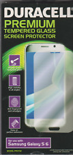 Duracell Premium Tempered Glass Screen Protector, for Samsung Galaxy S6, New