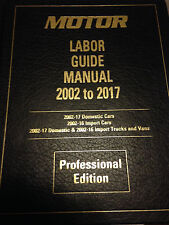 2017 Labor Guide - 36 yrs of Labor Times + Bonus ASE