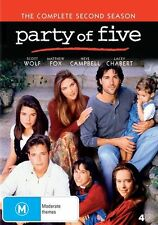 Party Of Five : Season 2 (DVD, 4-Disc Set) BRAND NEW SEALED