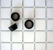 LOCKING HOLE GROMMET, BLACK PLASTIC, 50 PCS