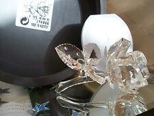 "Swarovski Silver Crystal ""The ROSE""  Box/Cert MINT"
