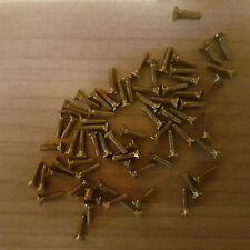 100 Stück Senkschrauben M2 x 8- Schlitz– Senkkopfschrauben