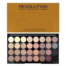 Makeup Revolution 32 All Matte Shadows Eyeshadow Palette Flawless MATTE