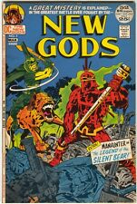 New Gods 7 DC 1972 VF Jack Kirby 1st Steppenwolf Darkseid Justice League