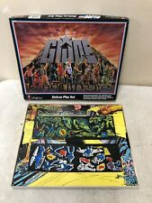 1985 GI Joe Colorforms Deluxe Play Set in Original Box; Vintage 1980s Cobra