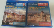 Rick Steves Lot of 2 NEW Blu Ray - 14 PBS Episodes - Eastern Europe & Cities