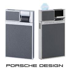 Porsche Design P3632/02 grau Feuerzeug mit Flat-Flame & einzigartigem Design