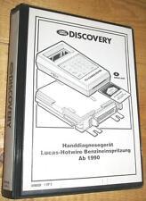 Land Rover Discovery à partir de 90 Diagnostic System Memory Card Hot-Wire Fuel Injection