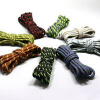 1/2Pairs 19 Colors Round Shoe Laces Sport Running Climbing 1.2