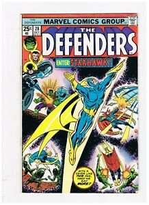 Defenders # 28 1st Starhawk Fine October 1975 Combine Shipping Key