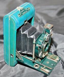 Kodak Vanity Vest Pocket Series III Camera Vintage Blue/Green, with Box