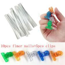 Extension Fiber Fiberglass With Nail Pinching Clips Extend Tool Set Pinchers