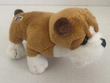 "Ganz Lil' Kinz Bull Dog Small Plush Stuffed Animal 5"" Tall 6.5"" Long"