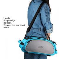 Cycling Bicycle Bike Pannier Rear Seat Bag Rack Trunk Shoulder Carry Handbag