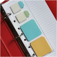 Martha Stewart Planner Insert Filofax Dashboard Plastic Divider Sticky Note Tabs