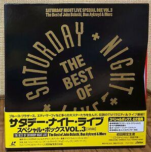 SATURDAY NIGHT LIVE Vol.3  1992 JAPAN LTD. 5LD BOX SET LASERDISC PILF-7292