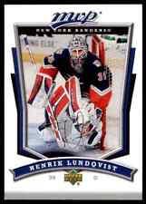 2007-08 Upper Deck MVP Henrik Lundqvist #223