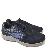 B1050 Nike Mens Revolution 3 Running Shoe Black/Blue/Grey US 10.5