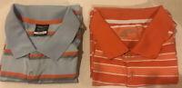 Lot Of 2 Nike Golf Mens Sz XXL Tour Performance dri fit Polo Shirt Short Sleeve