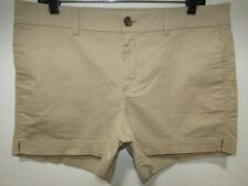 OLD NAVY EVERYDAY SHORT LIGHT BROWN/KHAKI CASUAL SHORTS WOMENS SIZE 12