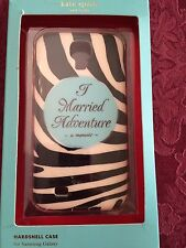 KATE SPADE ZEBRA I MARRIED ADVENTURE HARDSHELL PHONE CASE SAMSUNG GALAXY 4S $40