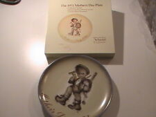 Schmid Brother's Sister Berta Hummel  Mothers Day Plate Germany 1972