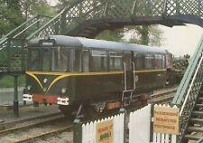 Railways Postcard - Diesel Railbus Leaving Castle Hedingham Station RR9758