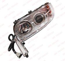 QSC Left Driver Side Headlights Set w/ Projector + Bulbs for Peterbilt 388 389