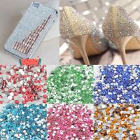 1000Pcs Colours Crystal Flat Back Rhinestones DIY Manicures Art Fashion Decor