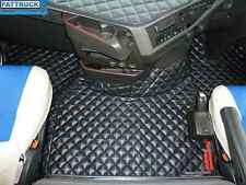 TRUCK ECO LEATHER FLOOR SET-COMPATIBLE WITH VOLVO FH 4   2013+[TWIN AIR SEATS]
