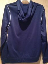SPEEDO NAVY BLUE Pullover Hoodie Sz L Hooded Jacket 100% Polyester Retail $54