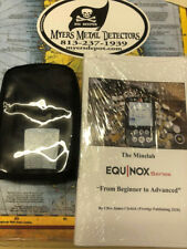 """Minelab Equinox 800 & 600 : """"From Beginner to Advanced""""+Touchpad Protector Cover"""