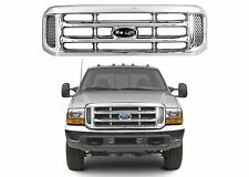 Replacement Chrome Grill FO1200417 For 1999-2004 Ford F-250 F-350 New Free Ship