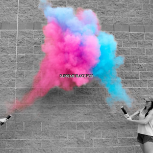 4 Baby Gender Reveal Powder Cannons Party Poppers Smoke Cannon