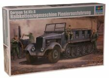 German Sd.Kfz 6 Type BN9 5-Ton Halftrack Pioneer Ver. Plastic Kit 1:35 Model