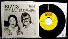 ELVIS PRESLEY-J.D. SUMNER-Elvis Has Left The Building-NM Sleeve & 45-QCA #461