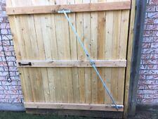 "Stockade Fence Gate Sag Repair Brace-The adjustable ""CANDUIT"" Brace on SALE NOW"