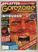 Gorezone Mag Intruder Freddy Krueger Caroline Munro March 1989 110320nonr