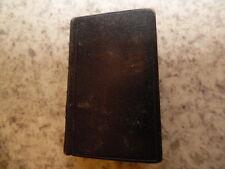 1840.Office de la sainte vierge en latin.4,5/7,5cm..