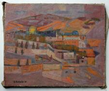 Éléonore REINHOLD (1905-1984) huile sur toile 36 x 48 cm signée et datée 1968