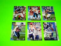 6 TORONTO ARGONAUTS UPPER DECK CFL FOOTBALL CARDS 78 80 82 84 86 87 #-3