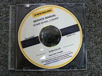 New Holland Model W190B Wheel Loader Shop Service Repair Manual CD