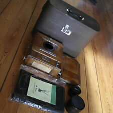 FKD 13x18 Soviet Vintage Wooden Large Format Camera Industar-51 4.5/210mm lens