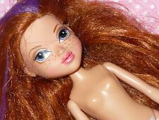 Mga Moxie Girlz Kellan Doll Nude Naked for Ooak or Custom Long Red Hair Purple