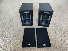 New listing M&K Miller & Kreisel Sound Corporation S-85 Speaker Monitor Multi-Channel Pair