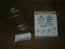 Vintage Adams CHINESE LINKING RINGS Complete in Box 1970s