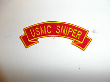 b3409 Vietnam - current  USMC Sniper scroll R7C