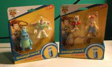 LOT 3 -Imaginext Disney Toy Story 4  2 SETS BUNNY & BUZZ & FORKY & WOODY NIP