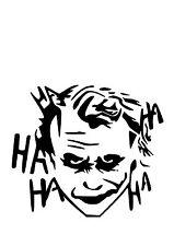 High Detail The Joker Airbrush Stencil - Free UK Postage