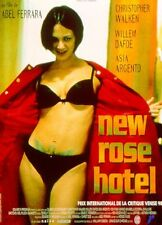 Affiche 40x60cm NEW ROSE HOTEL (1999) Abel Ferrara - Asia Argento, Walken, Dafoe